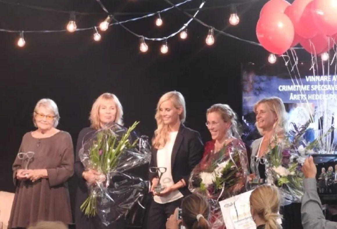 Lindstein, Schepp, Larsson, Korsell, Jonsson och Sjöwall fick årets deckarpriser