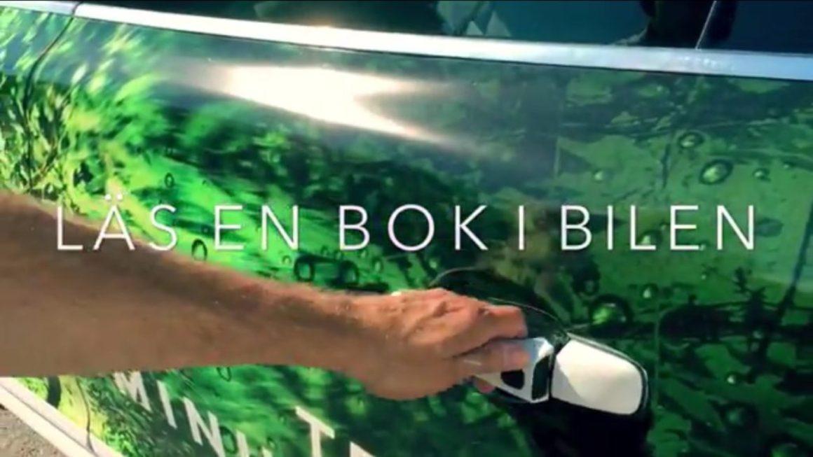 Små enkla filmer med humor gör reklam för Piratförlagets böcker