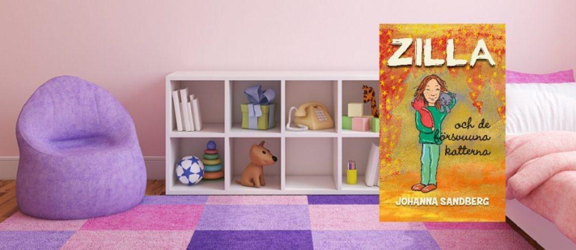 Boktips: Zilla och de försvunna katterna av Johanna Sandberg