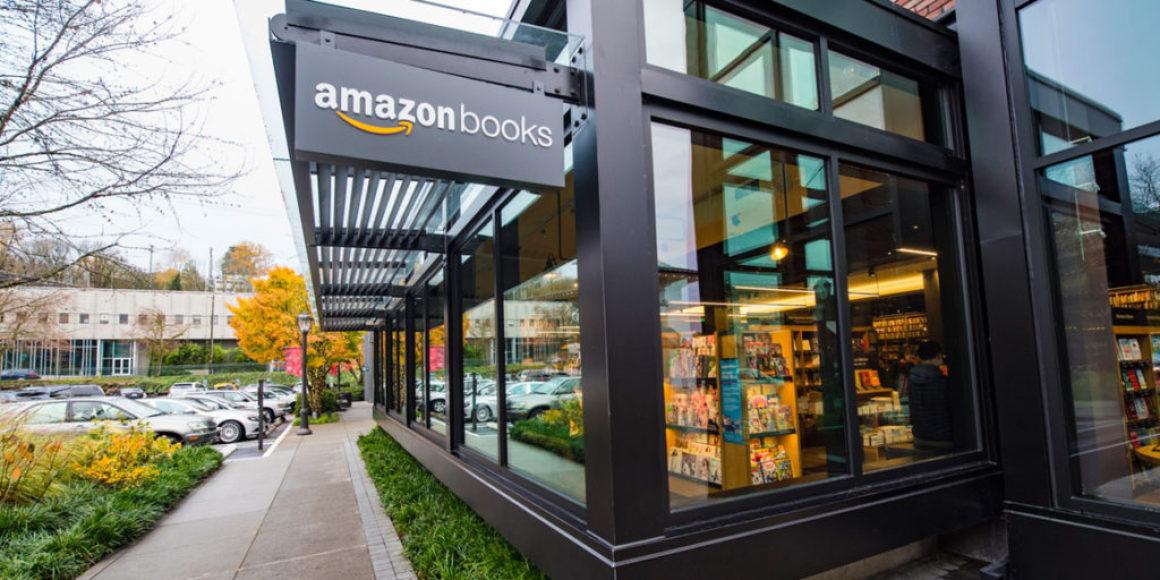Amazon öppnar sin tionde bokhandel