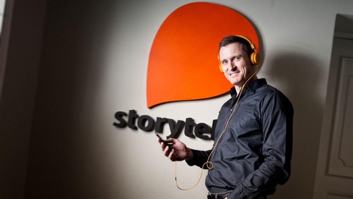 Storytel fick 32 procent fler kunder i Sverige på ett år