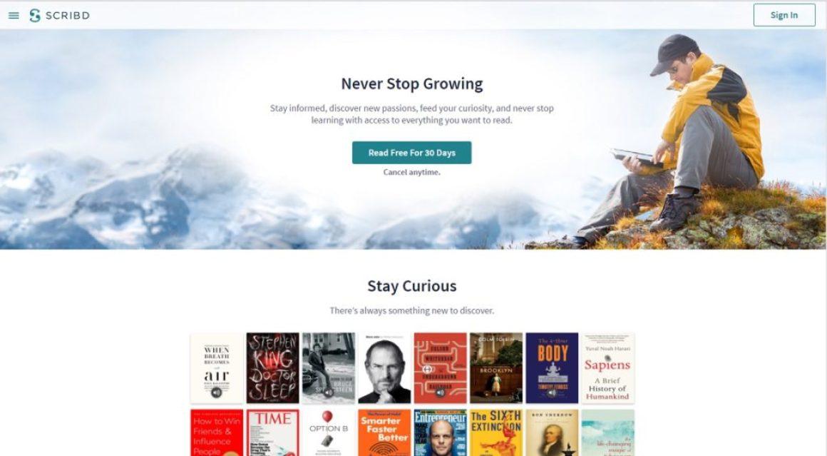 Scribd expanderar – inför ny tjänst där tidningsartiklar länkas till böcker