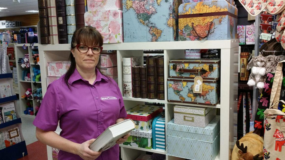 Malungs bokhandel hoppas på starkare medvind i framtiden