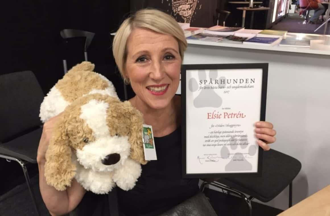 Spårhunden 2017 går till Elsie Petrén
