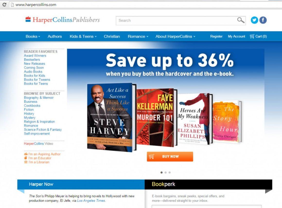 Bokförlag re-lanserar sin hemsida med fokus på direktförsäljning