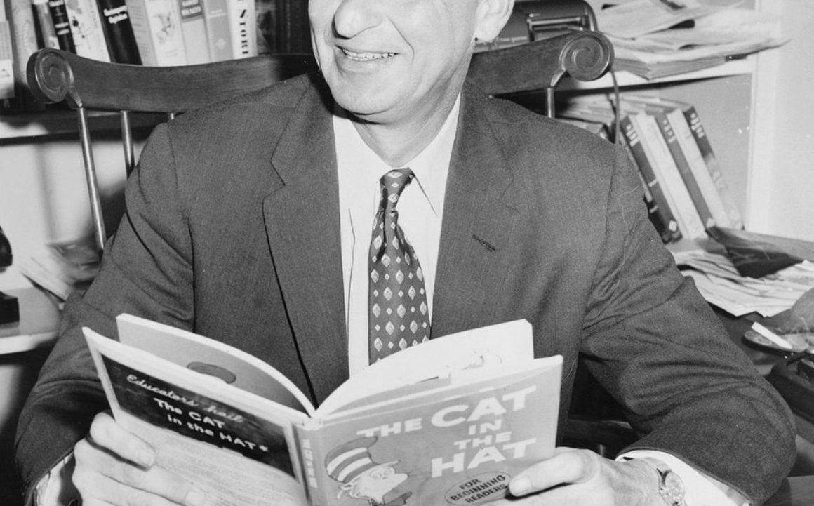 Ny bok från Dr. Seuss trycks i en miljon exemplar