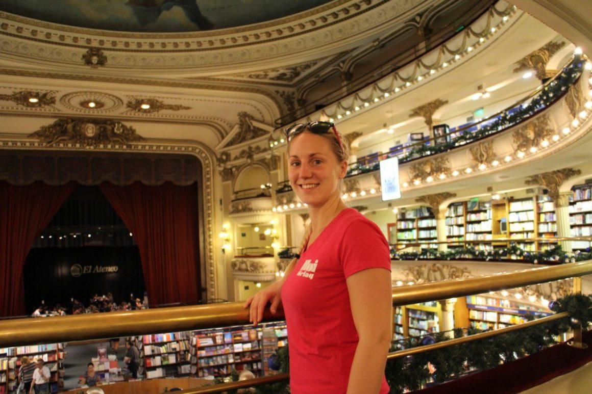 Buenos Aires är bokhandelns huvudstad