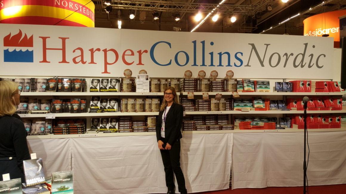 Harper Collins Nordic om Bokmässan 2015: en av de bästa placeringarna
