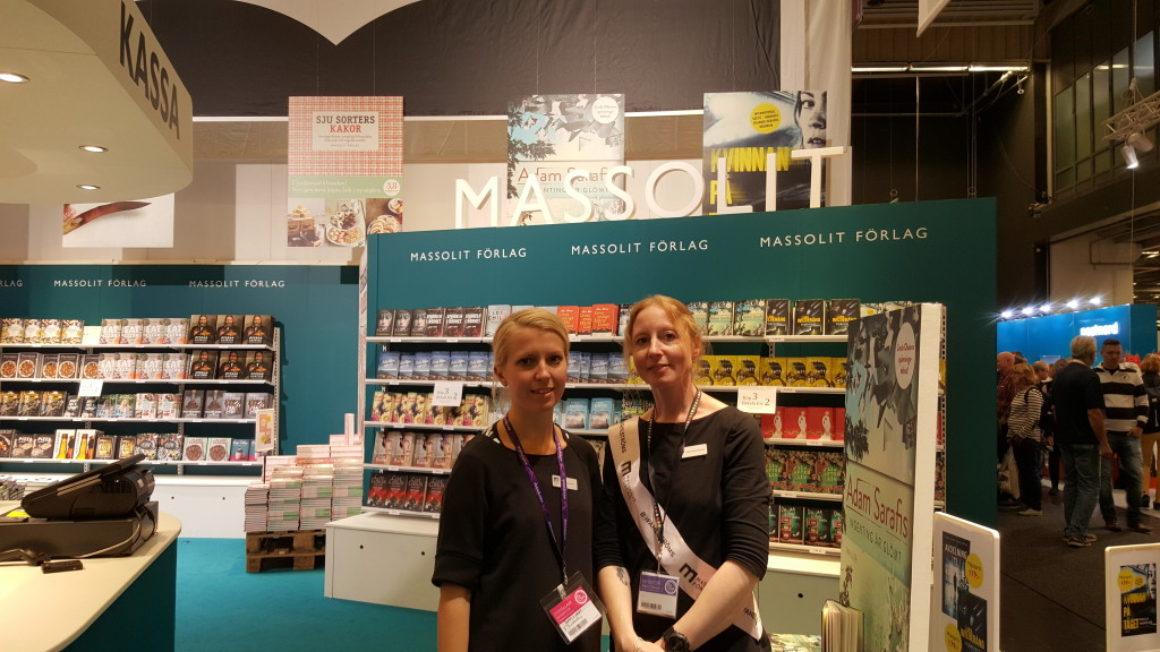 Massolit om Bokmässan 2015: besök av sin storsäljande författare