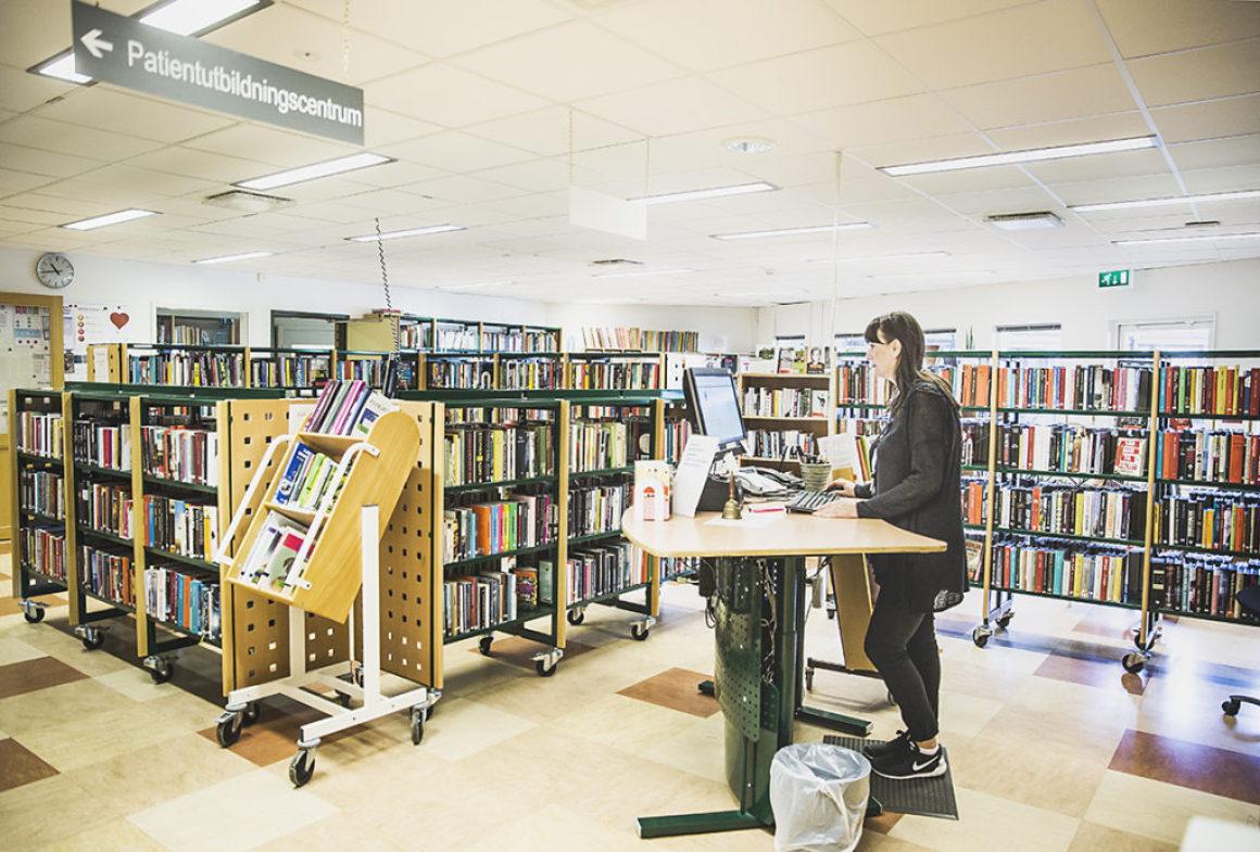 Sjukhusbiblioteket – en viktig del av samhället