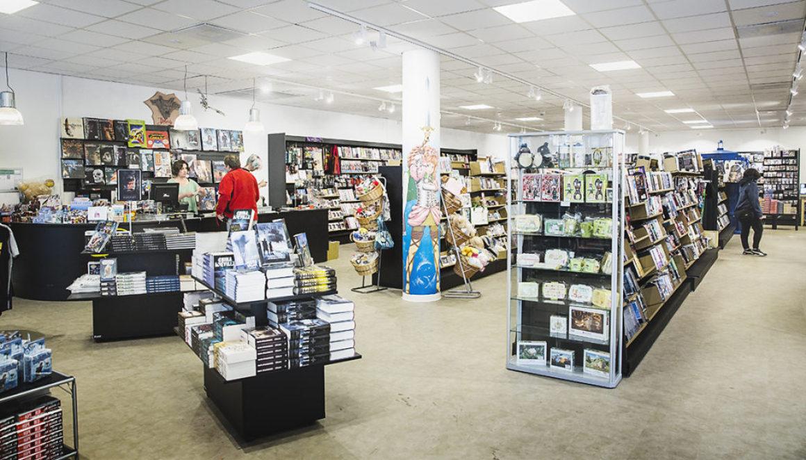Malmö Science Fiction-bokhandel har blivit dubbelt så stor