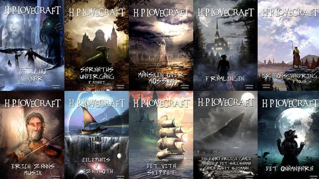 Storsatsning på H.P. Lovecraft som e-noveller i ny översättning av Oskar Källner