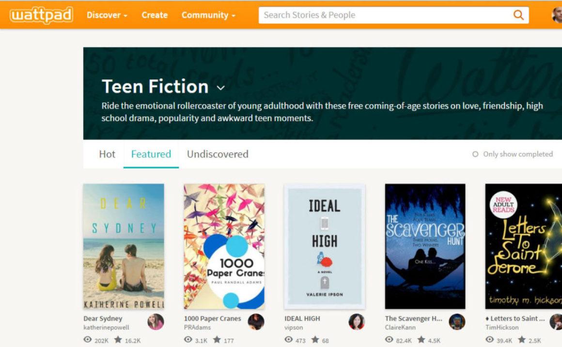 Wattpad lanserar Futures – annonspengar till författare