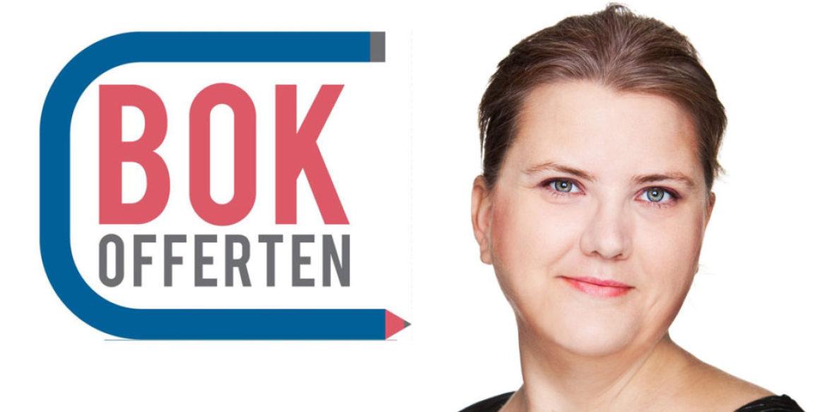 Jenny Dahlberg och Bokofferten vill förmedla uppdrag i bokbranschen