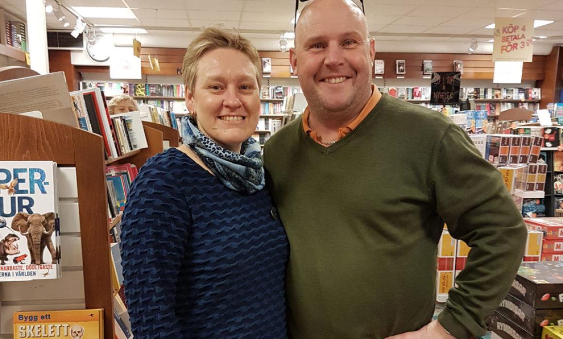 Borgholms bokhandel säljer till trogen kundkrets och turister