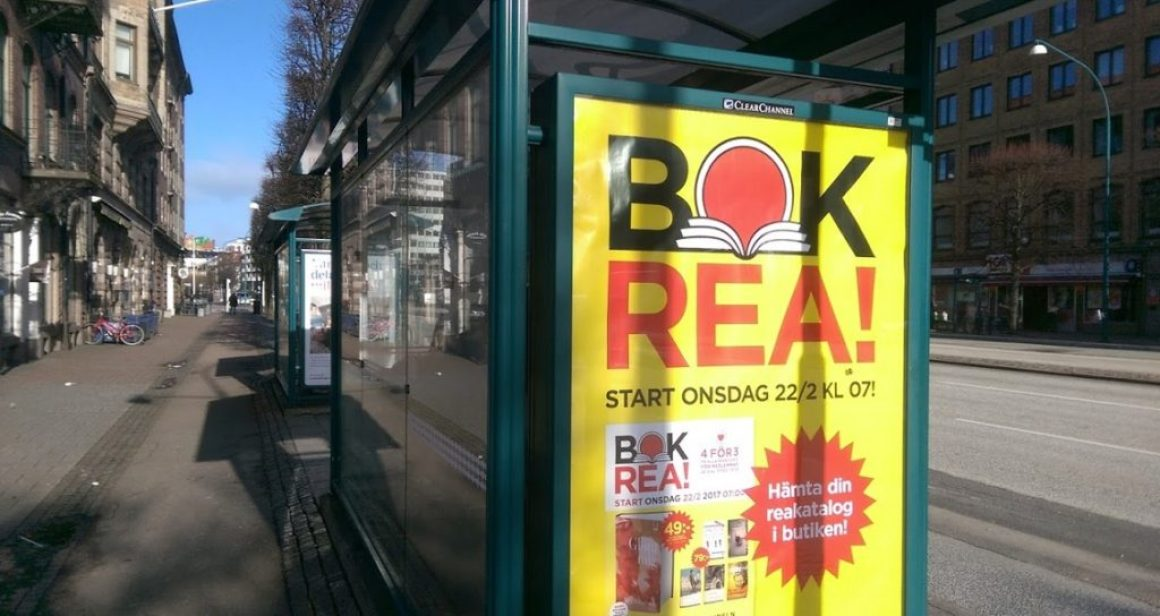 """""""Bokrean står för 5 procent av förlagens årliga försäljning"""""""