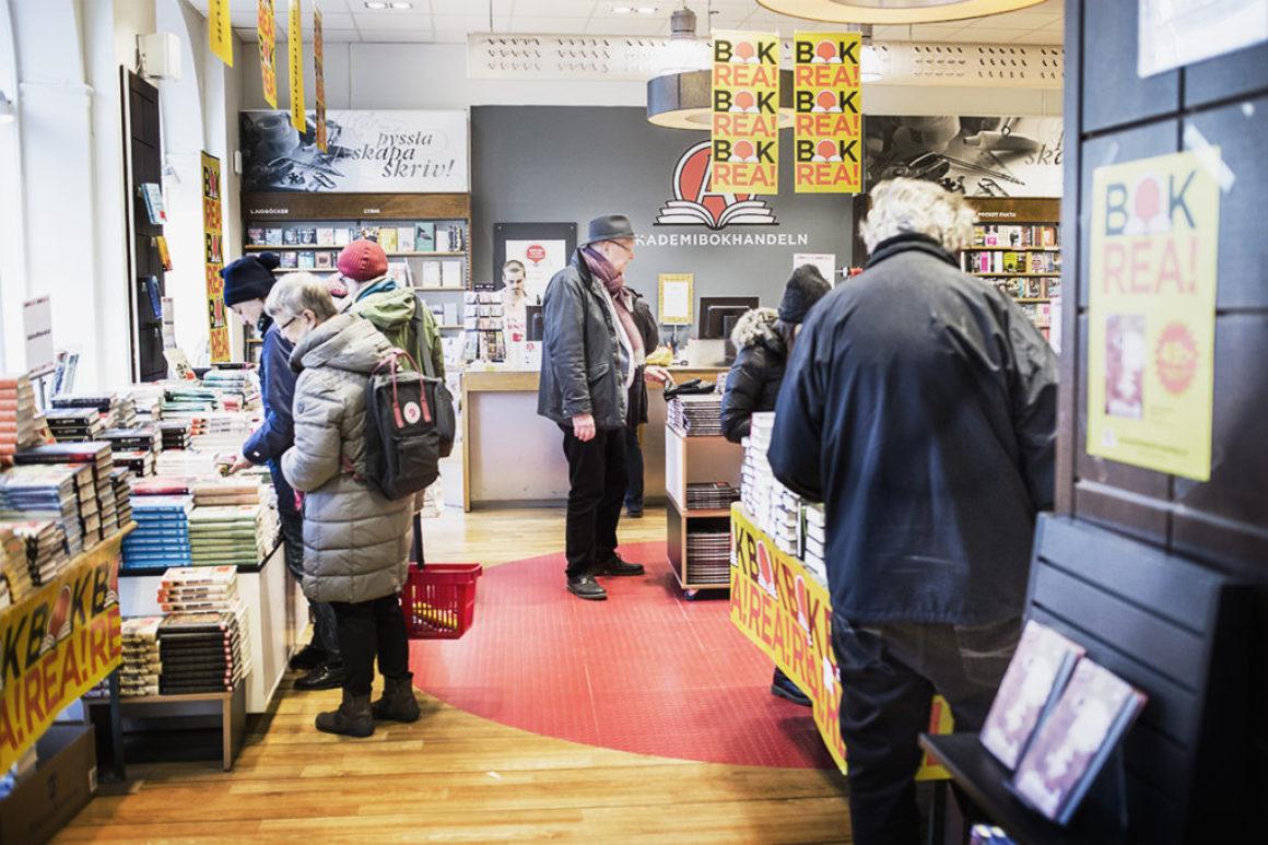 Ett besök på Bokrean 2017 hos Killbergs bokhandel