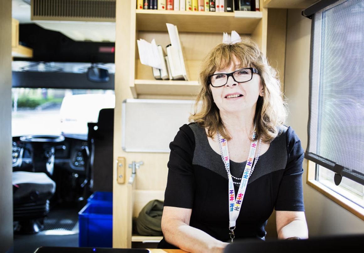 Bibliotek på hjul har stor betydelse för helsingborgarna