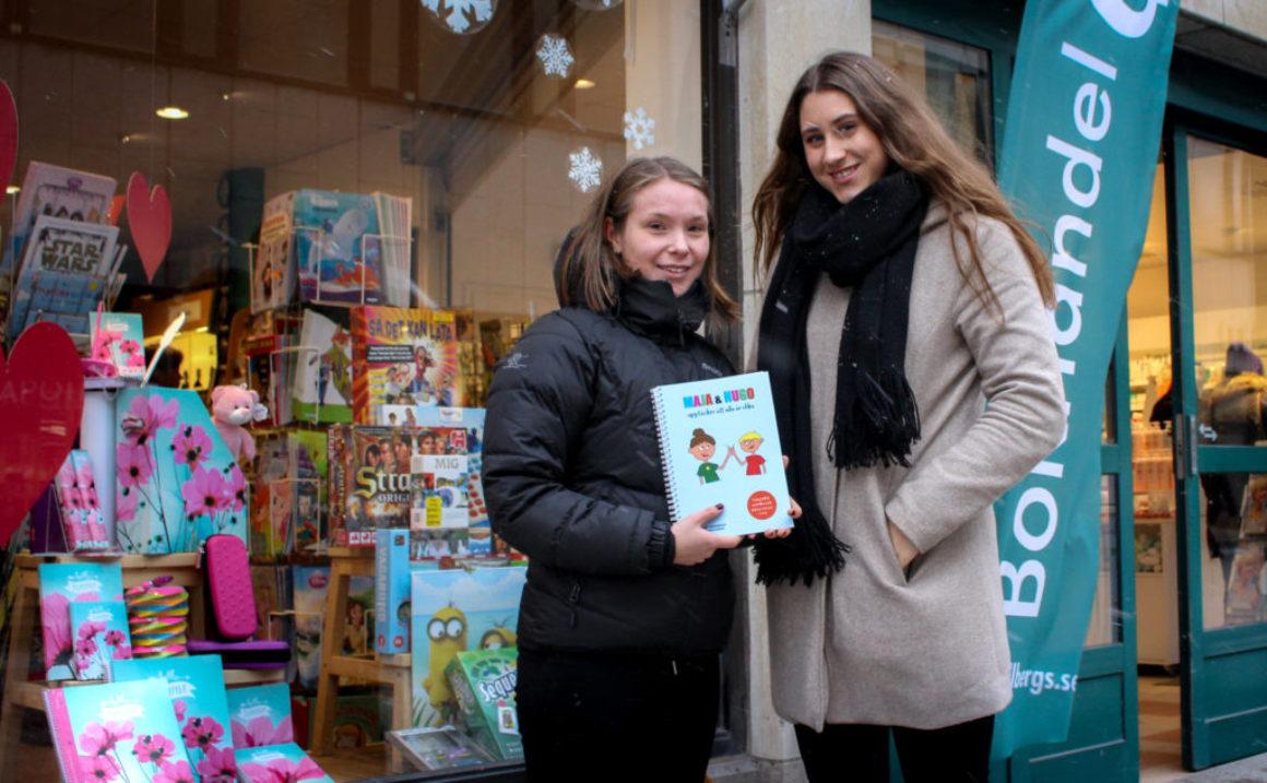 Gymnasietjejer hyllade för bokprojekt vid SM i Ung Företagsamhet