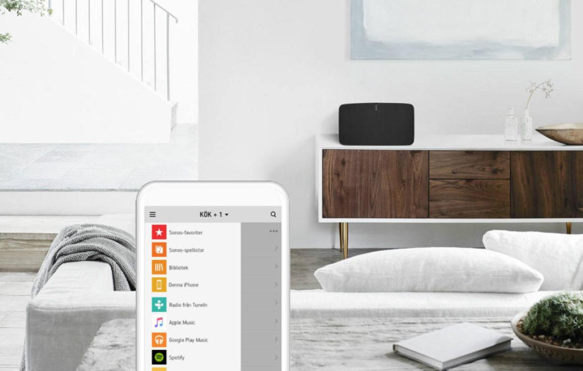 Ljudboken tar över sofforna – Storytel i samarbete med högtalartillverkaren Sonos