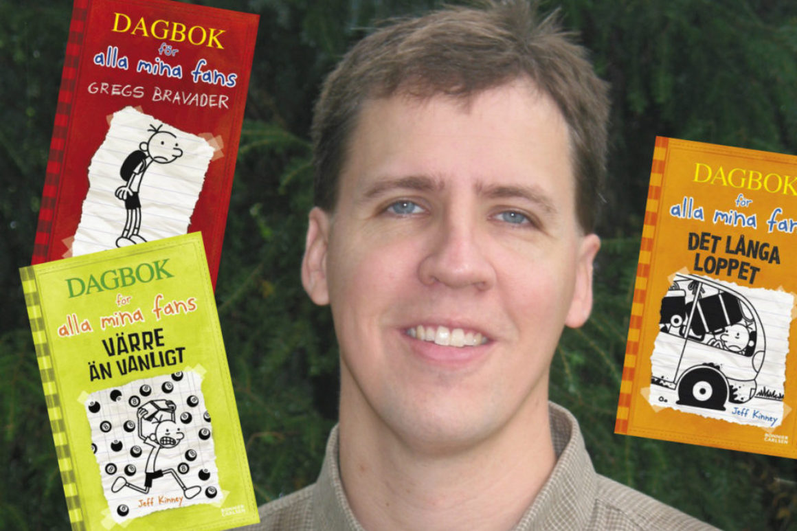 Jeff Kinneys Dagbok för alla mina fans banar väg för fler humoristiska barnböcker