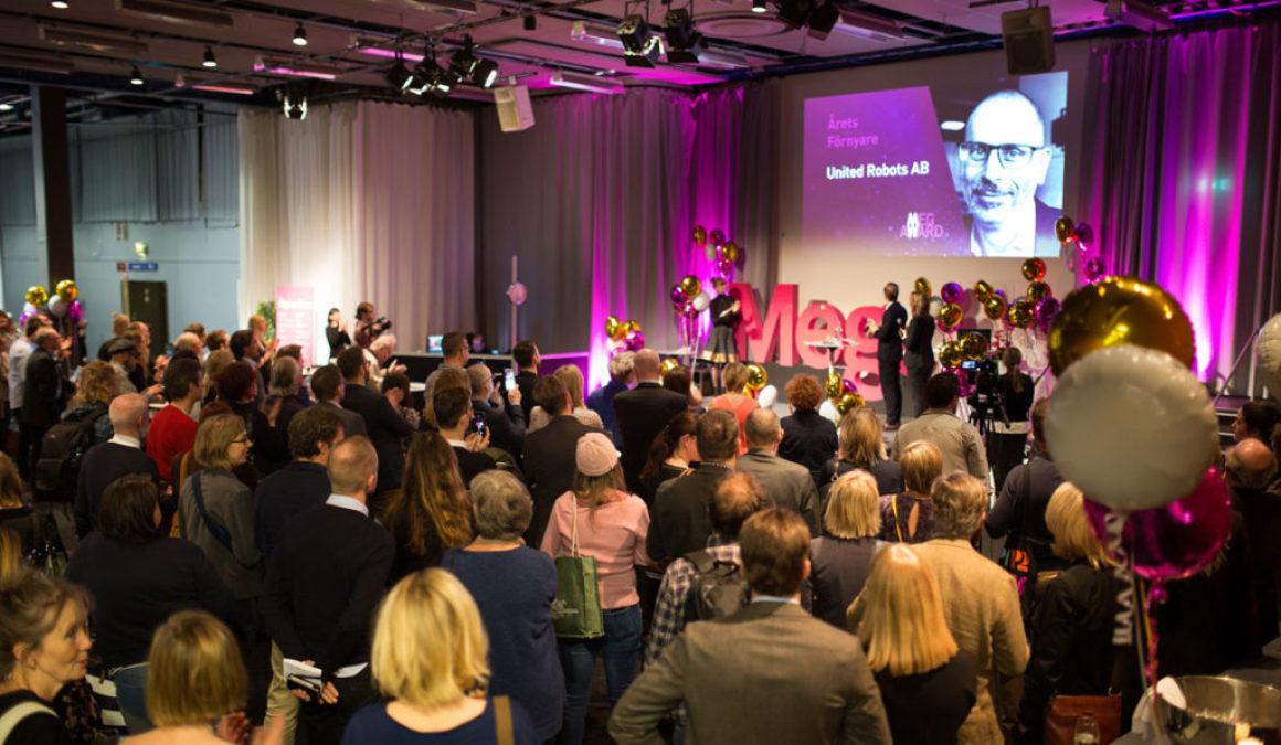 Boktugg nominerade till Årets förnyare på MegAward