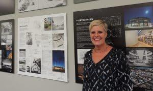 Anna-Karin Axelsson, bibliotekschef vid Växjös kultur- och fritidsnämnd. Foto: Privat