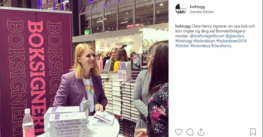 Nya bocker av svenska forfattare