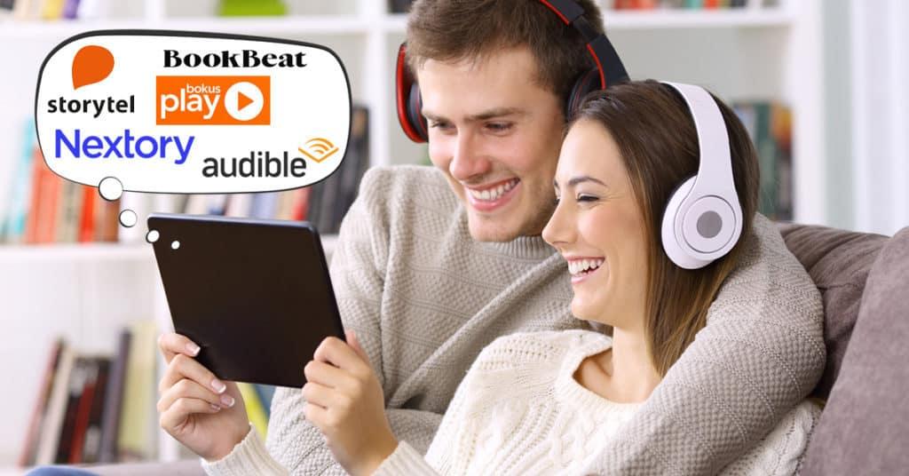 Välj rätt ljudbokstjänst eller app för ljudböcker och eböcker