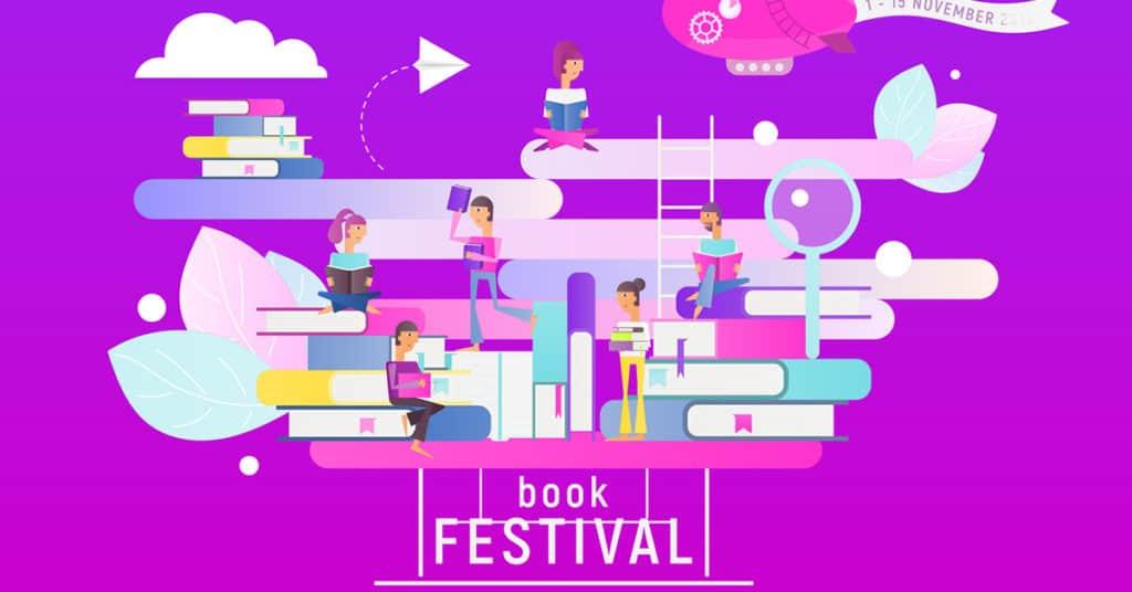 Författarfestivaler Bokmässor Och Andra Litterära Evenemang 2019