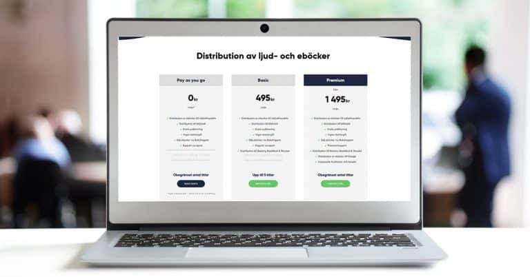 """Publit erbjuder """"flat rate"""" på distribution av eböcker och ljudböcker – inklusive bibliotek"""