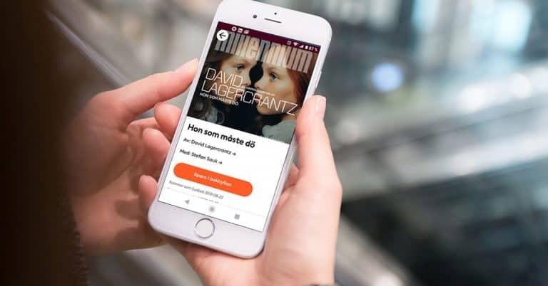 Norstedts backar – Millennium 6 släpps även på Bokus Play
