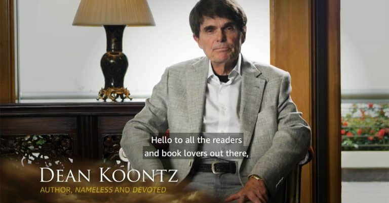 Dean Koontz skriver avtal med Amazon – inte tv-serie utan fem böcker