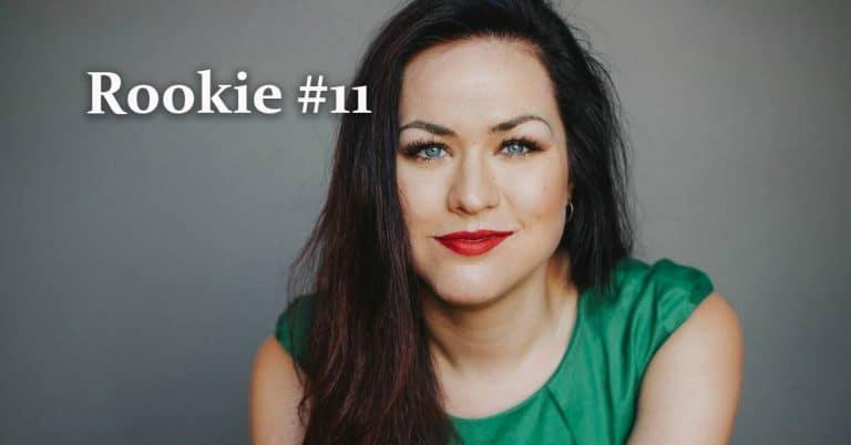 """Rookie 11 med Camilla Sten: """"Jag kommer aldrig att sluta skriva böcker"""""""