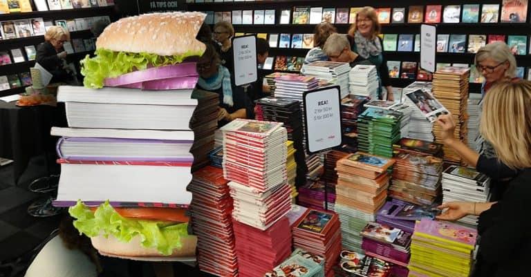 "Bokens klimatavtryck: ""Som en halv hamburgare"""