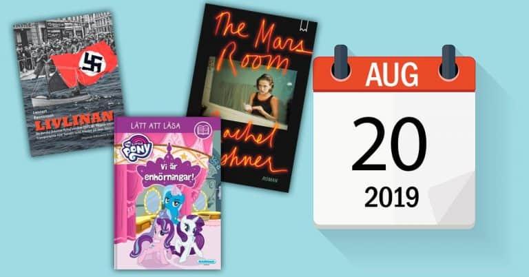 Dagens boktips med mera – 20 augusti 2019