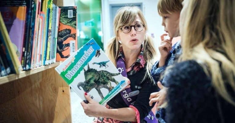 Barnen får ett eget program i år på Bokbordet Stockholm