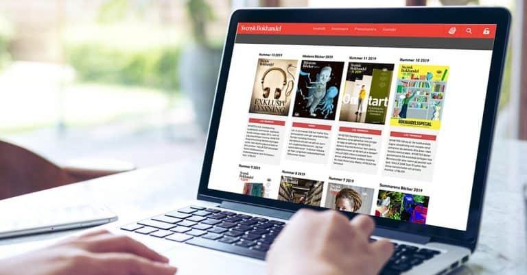 Svensk Bokhandel drar ner på utgivningen – blir månadstidning