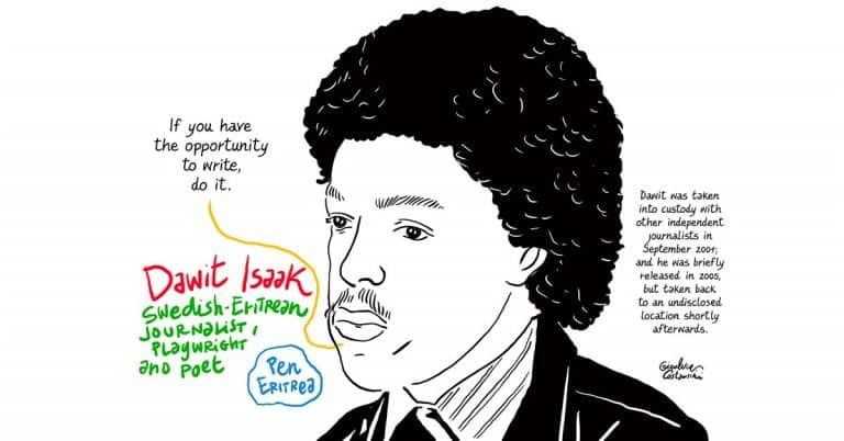 Dawit Isaak bjuds in till Bokmässan