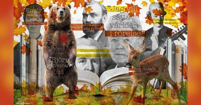 Höstens böcker 2019: Bellman, Bambi och elchocker