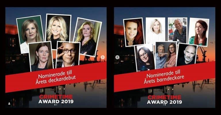 Här är de nominerade till Crimetime Award 2019 – Årets deckardebut och Årets barndeckare