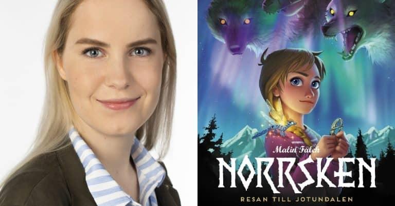 Folktro och nordiska sagor får liv i serieromanen Norrsken