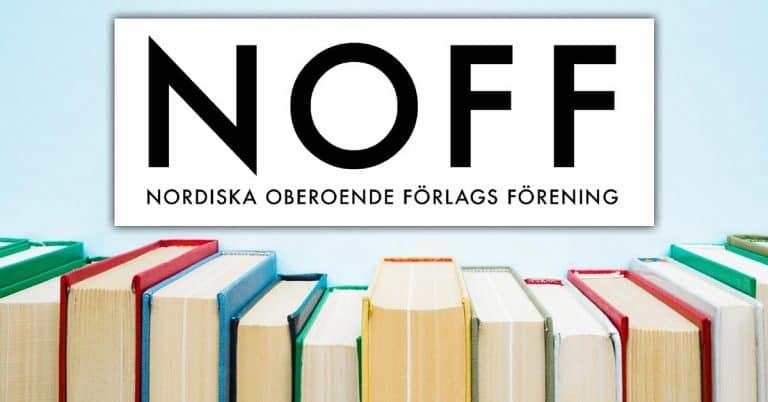 NOFF satsar på ny logga och ny hemsida – planerar förlagshandbok