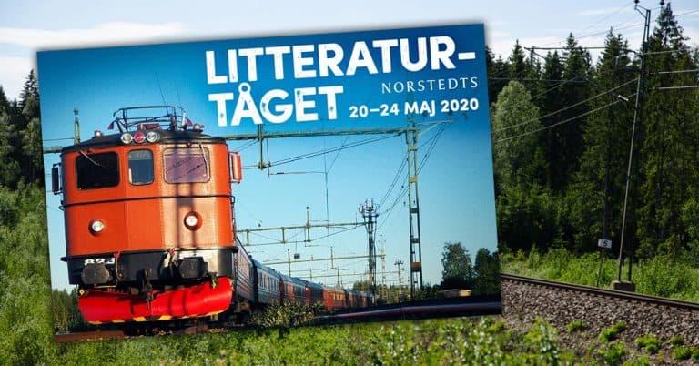 Norstedts provar nytt eventspår – arrangerar Litteraturtåget 2020
