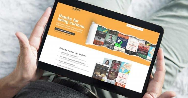 Amazon lanserar Audible i Sverige – med svenska profiler på engelska