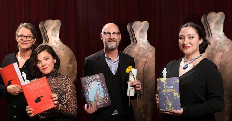 Små och stora förlag delade på nomineringarna till Augustpriset 2019