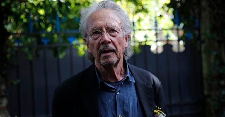 Peter Handke tänker aldrig mer svara på frågor från journalister
