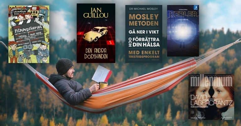 Topplista – september 2019: De mest sålda böckerna i Sverige
