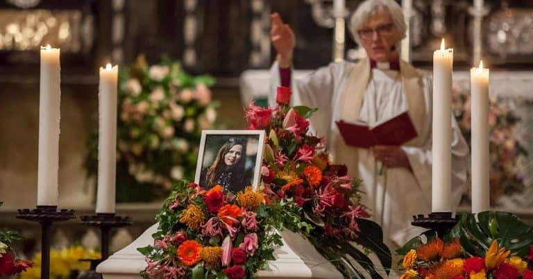 Många tog avsked av Sara Danius – Ärkebiskopen: Danius förmedlade ljus