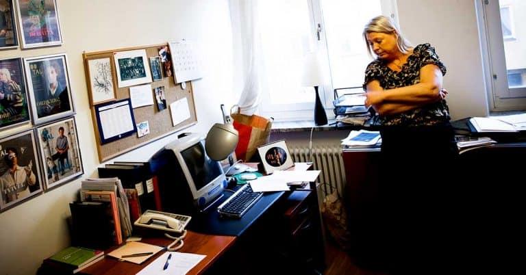 Madeleine Grive firar snart 40 år som tidskriftsredaktör och lever mitt i poesin